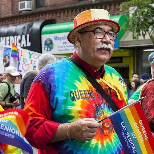 Queens Pride Parade. Photographer: Luisa Madrid. Wikimedia Commons
